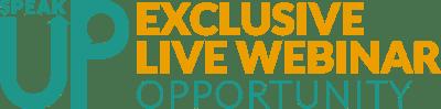 SPEAKUP_Webinar_opportunity_logo